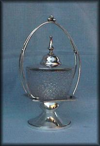 TREE OF LIFE SUGAR HOLDER SILVERPLATE FRAME (Image1)