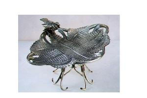 VICTORIAN SILVERPLATE CALLING CARD HOLDER (Image1)