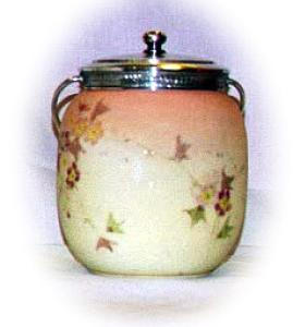 MOUNT WASHINGTON PAINTED BISCUIT BARREL (Image1)
