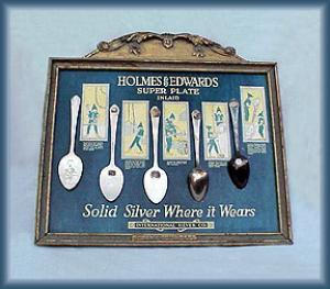 GREAT HOLMES & EDWARDS ADVERTISING SPOON SIGN (Image1)