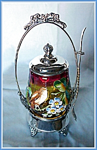 PICKLE CASTOR ENAMELED AMBERINA BIRD (Image1)