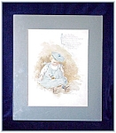 Click here to enlarge image and see more about item V4419: MAUD HUMPHREY NURSERY PRINT