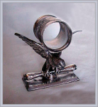 FIGURAL NAPKIN RING LARGE AMERICAN EAGLE