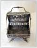 Click to view larger image of SILVERPLATE MECHANICAL JEWEL CASKET (Image3)
