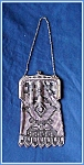 Click here to enlarge image and see more about item V8691: PURSE WHITING DAVIS BLACK AND WHITE