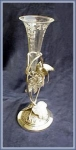 Click here to enlarge image and see more about item V9016: VICTORIAN VASE FIGURAL BIRD FRAME