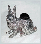 Click here to enlarge image and see more about item V9325: PIN CUSHION - LARGE RABBIT
