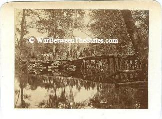 Photograph Military Bridge Across The Chickahominy (Image1)
