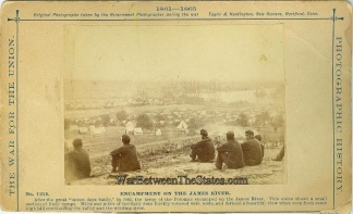 Photographs, Encampment On The James River, Va.