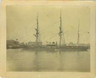 Photograph, Union Warship, U.S.S. Juniata (Image1)