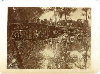 Photograph, Military Bridge Across The Chickahominy (Image1)