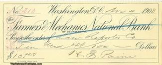 Autograph, General Halbert E. Paine (Image1)