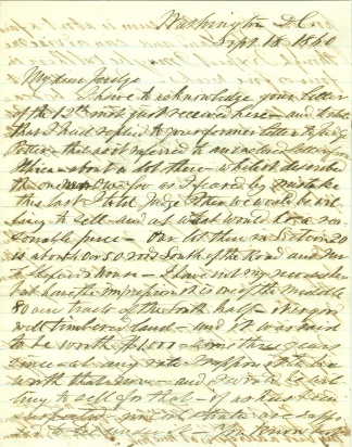 Autograph, General Henry W. Benham (Image1)