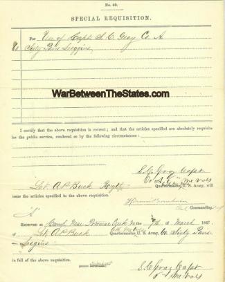 Autograph, General Hiram Burnham (Image1)