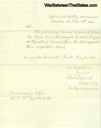 Autograph, General Charles S. Lovell (Image1)