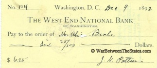 Autograph, General Joab N. Patterson (Image1)