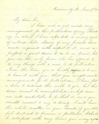 Autograph Albert T. Bledsoe (Image1)