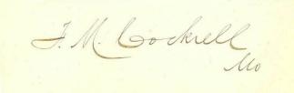 Autograph General Francis M. Cockrell (Image1)
