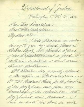 Autograph Alexander R. Boteler (Image1)