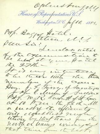 Autograph General Newton M. Curtis (Image1)