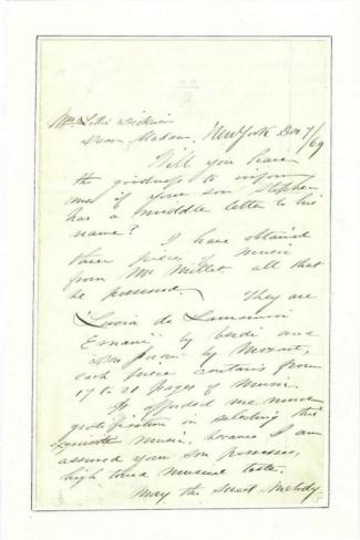 Autograph General Abram Duryee (Image1)