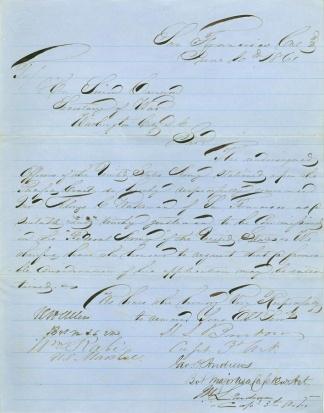 Autograph General Henry S. Burton (Image1)