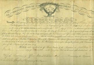 Autograph General William H. Blair (Image1)