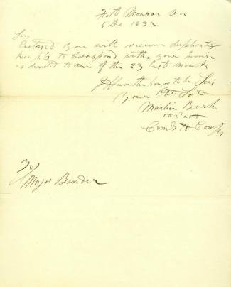 Autograph General Martin Burke (Image1)