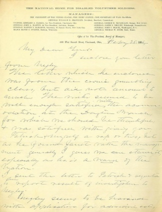 Autograph Colonel Leonard A. Harris (Image1)