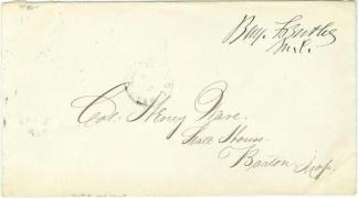 Autograph General Benjamin F. Butler (Image1)