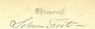 Autograph Solomon Foot (Image1)