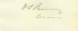 Autograph General Orris S. Ferry (Image1)