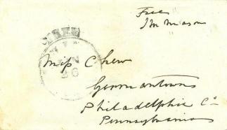 Autograph James M. Mason (Image1)
