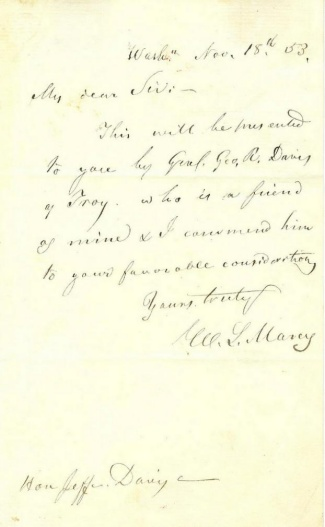 Autograph William L. Marcy (Image1)