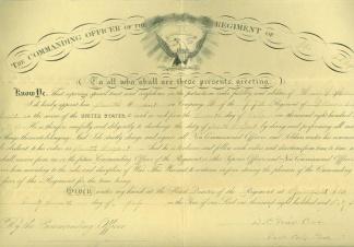 Autograph General David P. Grier (Image1)