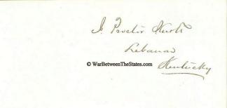 Autograph, James Proctor Knott (Image1)