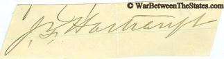 Autograph, General John F. Hartranft (Image1)