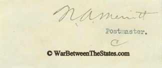 Autograph, Norman A. Merritt (Image1)