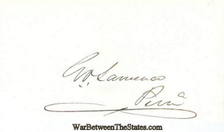 Autograph, George V. Lawrence