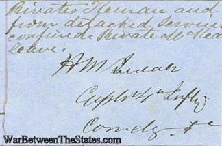 Autograph, General Henry M. Judah (Image1)
