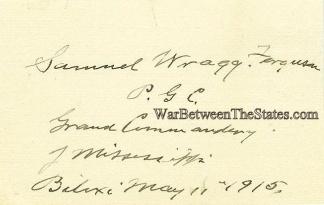 Autograph, General Samuel W. Ferguson (Image1)