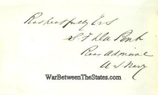 Autograph, Admiral Samuel F. Du Pont (Image1)
