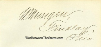 Autograph, William Mungen