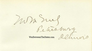 Autograph, Thompson W. Mcneely