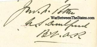 Autograph, John F. Potter (Image1)