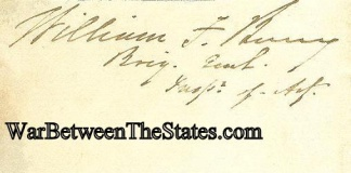 Autograph, General William F. Barry