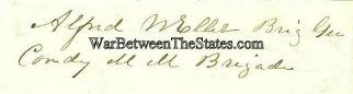 Autograph, General Alfred W. Ellet (Image1)