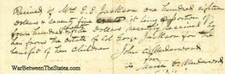 Autograph, John C. Underwood (Image1)