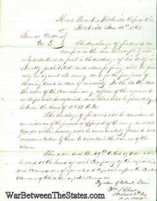 Autograph, General William S. Abert (Image1)