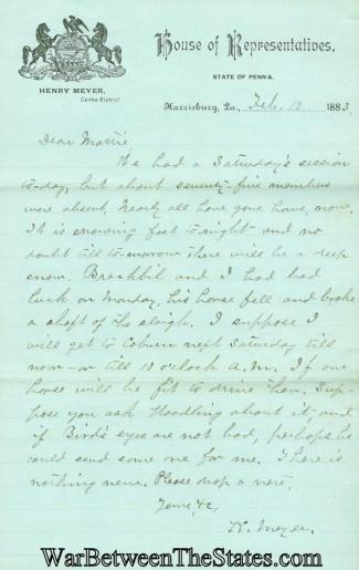 Autograph, Henry Meyer (Image1)